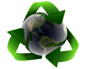 recycle_symbol_with_earth_photo